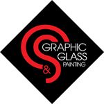 CS Graphic Glass Painting Logo
